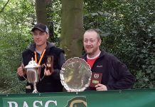 Nathan and Mark, winners of the Showdown and Plate